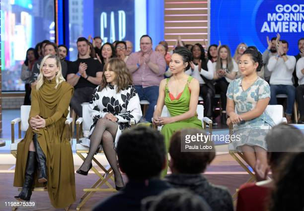 AMERICA The cast of Birds of Prey are guests on Good Morning America on Tuesday February 4 airing on ABC MARGOT