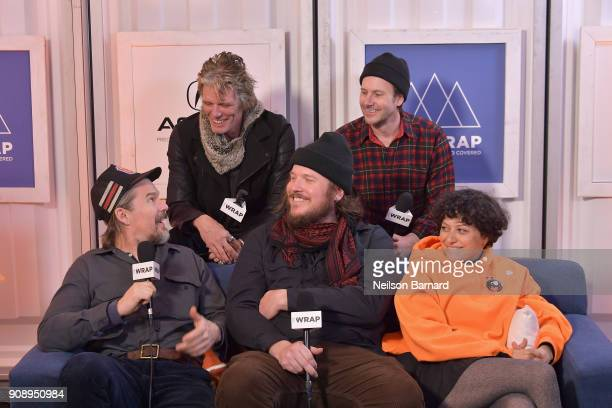 The cast of 'Blaze' attends the Acura Studio at Sundance Film Festival 2018 on January 22 2018 in Park City Utah