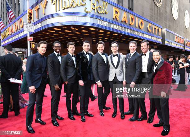 The cast of Boys in the Band attends the 73rd Annual Tony Awards at Radio City Music Hall on June 09 2019 in New York City