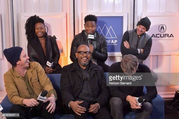 The cast of 'Burden' attends the Acura Studio at Sundance Film Festival 2018 on January 21 2018 in Park City Utah
