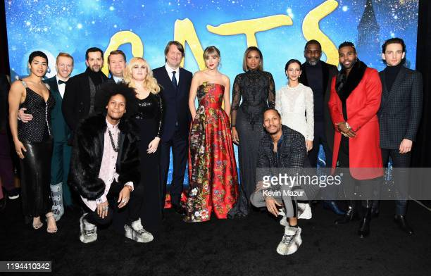 The cast of 'Cats' attends The World Premiere of Cats presented by Universal Pictures on December 16 2019 in New York City