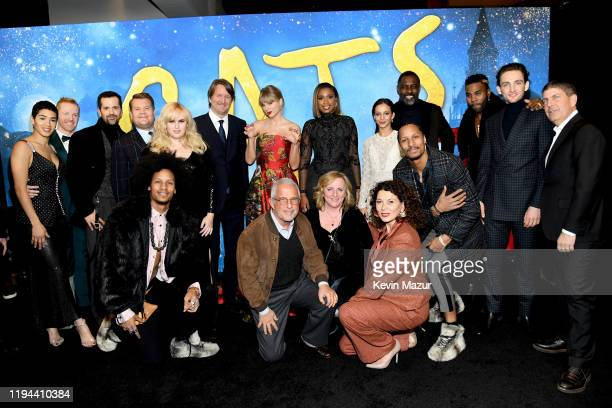 The cast of 'Cats' attends The World Premiere of Cats, presented by Universal Pictures on December 16, 2019 in New York City.