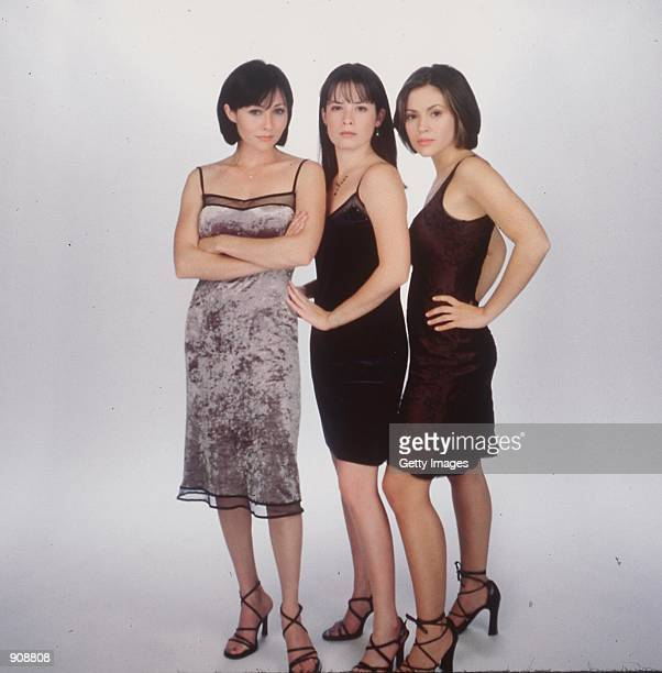 The cast of 'Charmed' From lr Holly Marie Combs as Piper Halliwell Shannen Doherty as Prue Halliwell and Alyssa Milano as Phoebe Halliwell