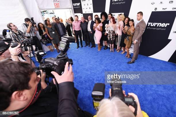 The cast of Claws Kevin Rankin Dean Norris Howard Deutch Eliot Lawrence Niecy Nash Janine Sherman Barrios Jason Antoon Carrie Preston Jenn Lyon Judy...