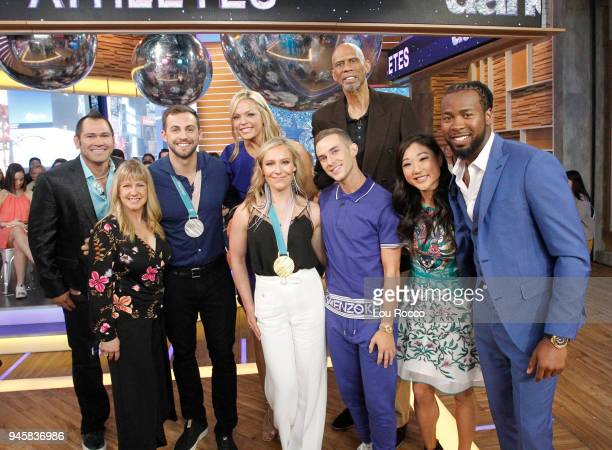 AMERICA The cast of 'Dancing with the Stars Athletes' is announced live on 'Good Morning America' Friday April 13 airing on the ABC Television...