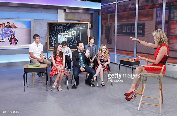 AMERICA The cast of Disney Channel's 'Girl Meets World' are guests on 'Good Morning America' 6/24/14 airing on the ABC Television Network
