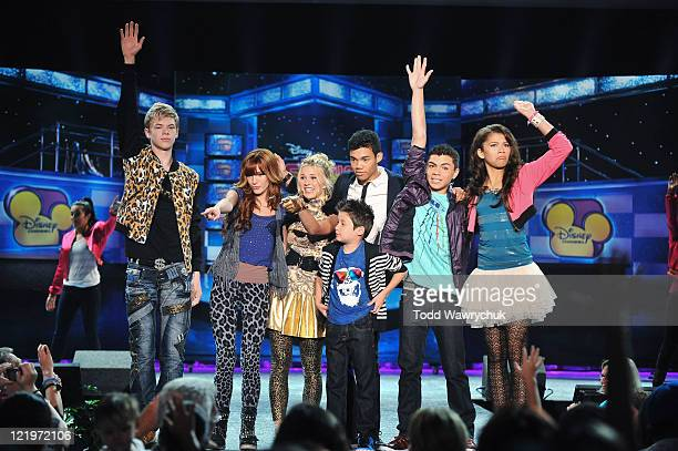 D23 EXPO The cast of Disney Channel's hit series 'Shake It Up' performs for fans and sign autographs at Disney's D23 Expo the ultimate event for...