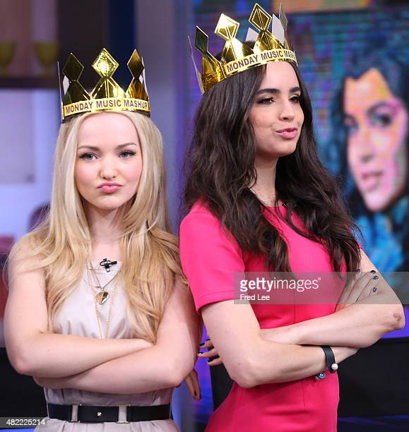 AMERICA The cast of Disney's The Descendants are guests on Good Morning America 7/27/15 airing on the Walt Disney Television via Getty Images...