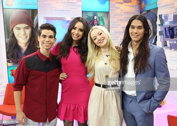 AMERICA The cast of Disney's 'The Descendants' are guests on 'Good Morning America' 7/27/15 airing on the ABC Television Network