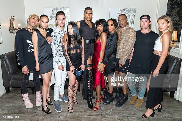 The cast of EJ NYC Nick Daniello Maya McHenry Alex Minetti Sanaz Panahi EJ Johnson Elisa Johnson Samaria Smith Kyle Bryan Drew Mac and Rachel Tabb...