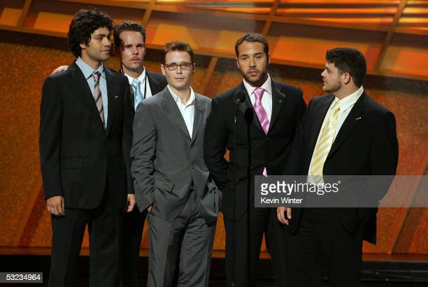 The Cast of Entourage onstage at the 13th Annual ESPY Awards at the Kodak Theatre on July 13 2005 in Hollywood California