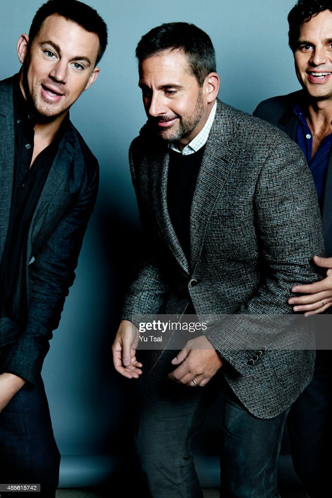The cast of 'Foxcatcher' Channing Tatum, Steve Carell adn Mark Ruffalo are photographed for Variety on September 6, 2014 in Toronto, Ontario.
