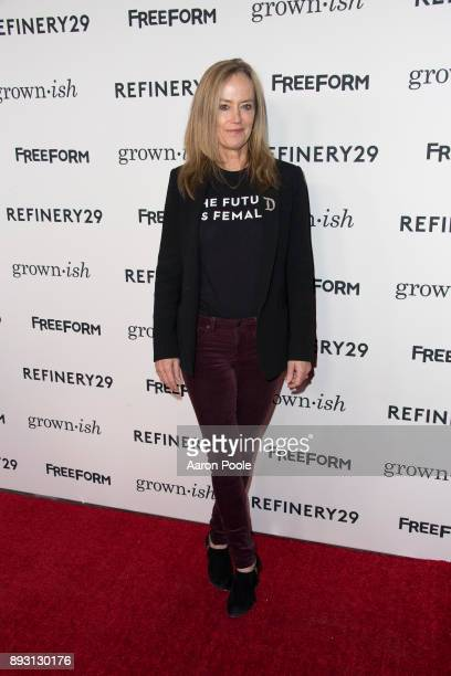 ISH The cast of Freeforms grownish celebrates at the Refinery29 screening for the series which premieres January 3 at 8pm KAREY BURKE