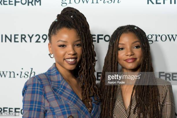 ISH The cast of Freeforms grownish celebrates at the Refinery29 screening for the series which premieres January 3 at 8pm CHLOE