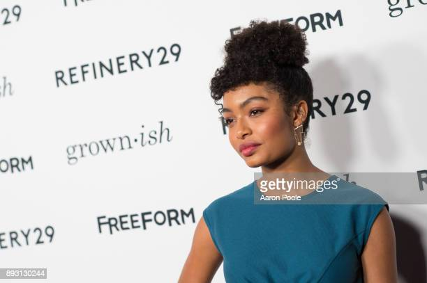 ISH The cast of Freeforms grownish celebrates at the Refinery29 screening for the series which premieres January 3 at 8pm YARA