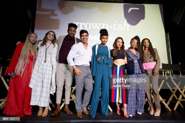 ISH The cast of Freeforms grownish celebrates at the Refinery29 screening for the series which premieres January 3 at 8pm LAURISE