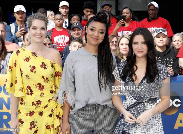 AMERICA The cast of Freeform's The Bold Type are guests on Good Morning America on Tuesday June 12 2018 airing on the Walt Disney Television via...