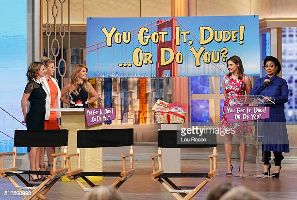 THE VIEW The cast of Fuller House visits THE VIEW 2/26/16 airing on the Walt Disney Television via Getty Images Television Network