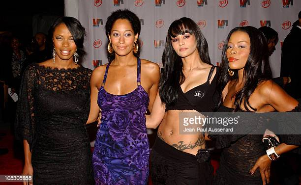 The cast of Girlfriends Jill Jones Tracee Ellis Ross Persia Whitw and Golden Brooks