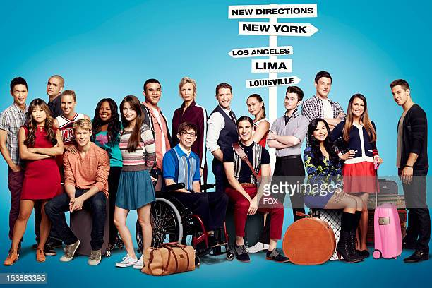 The cast of Glee Harry Shum Jr Jenna Ushkowitz Mark Salling Heather Morris Chord Overstreet Amber Riley Melissa Benoist Jacob Artist Kevin McHale...