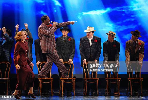 The cast of Guys and Dolls perform on stage during the 63rd Annual Tony Awards at Radio City Music Hall on June 7 2009 in New York City