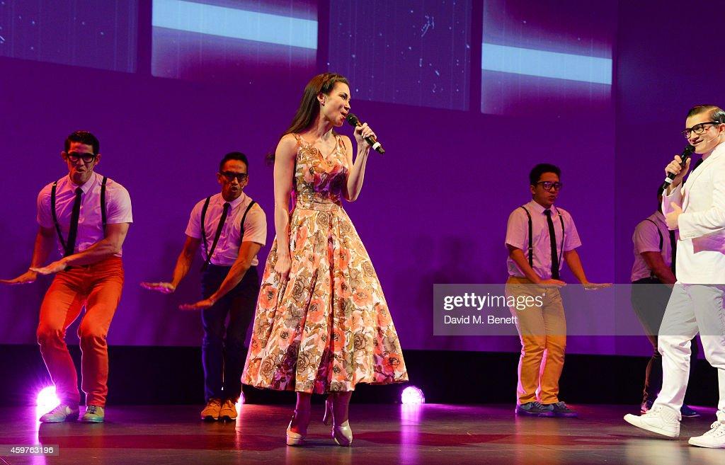 60th London Evening Standard Theatre Awards - Inside Ceremony : News Photo