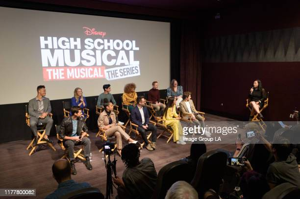 The cast of High School Musical: The Musical: The Series participate in a Disney+ press junket on Saturday, November 19 at The London West Hollywood....
