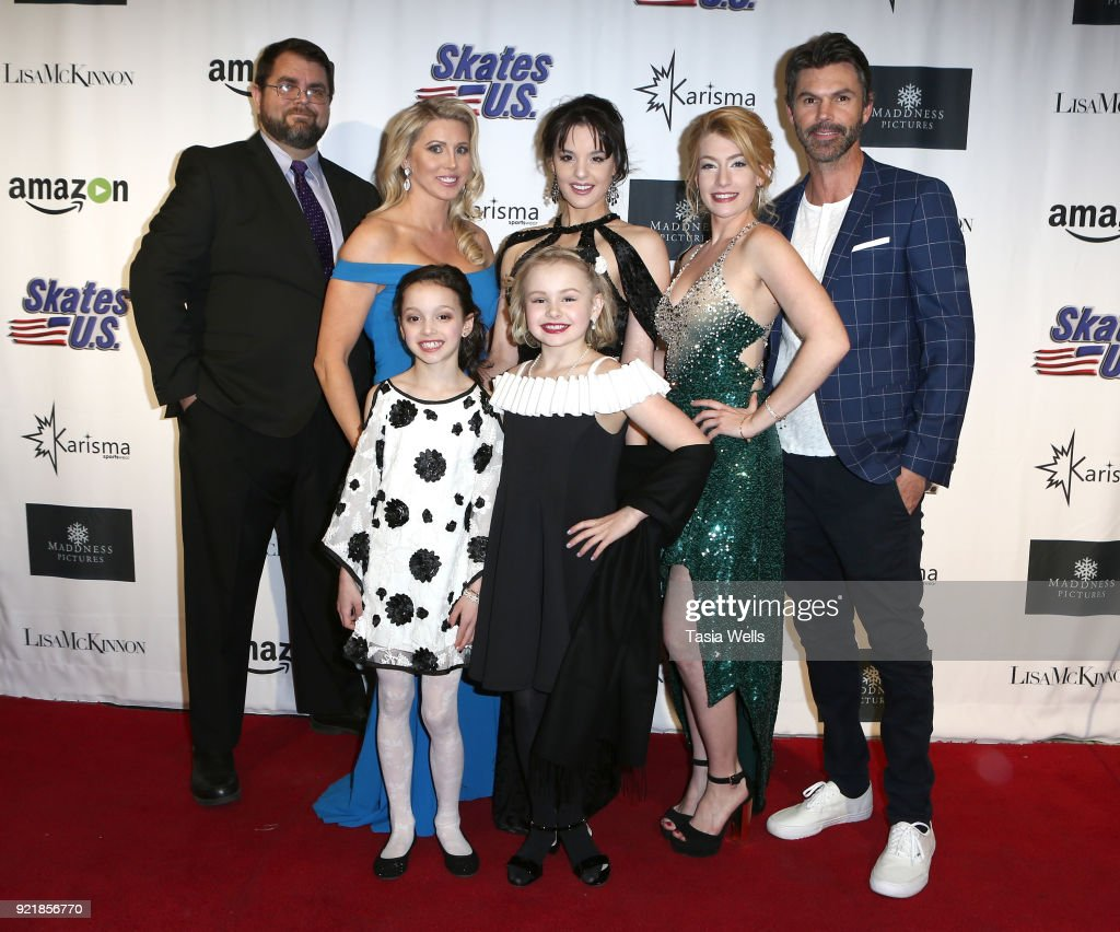 The cast of 'Ice The Movie' Los Angeles Special Screening at The Montalban Theater on February 20, 2018 in Los Angeles, California.