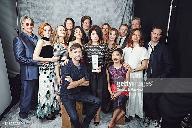 The cast of 'Inherant Vice' and Robert Altman Award winner Director Paul Thomas Anderson Casting Director Cassandra Kulukundis Ensemble Cast Josh...