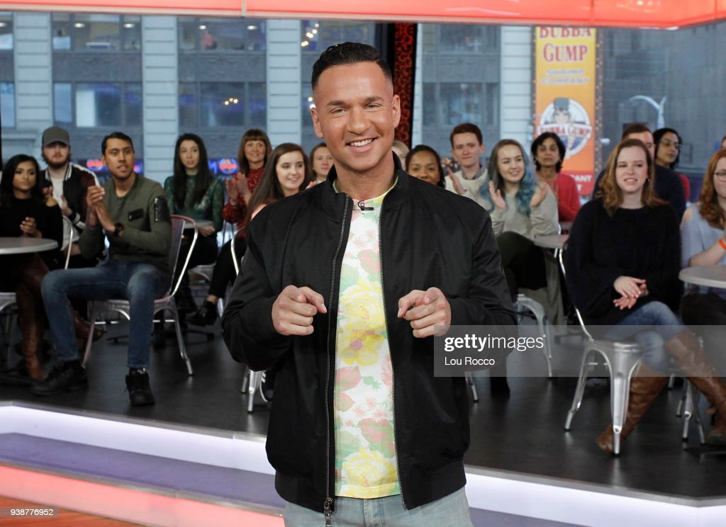 AMERICA - The cast of 'Jersey Shore' are guests on 'Good Morning America,' Tuesday, March 27, 2018, airing on the ABC Television Network. MIKE (THE SITUATION) SORRENTINO
