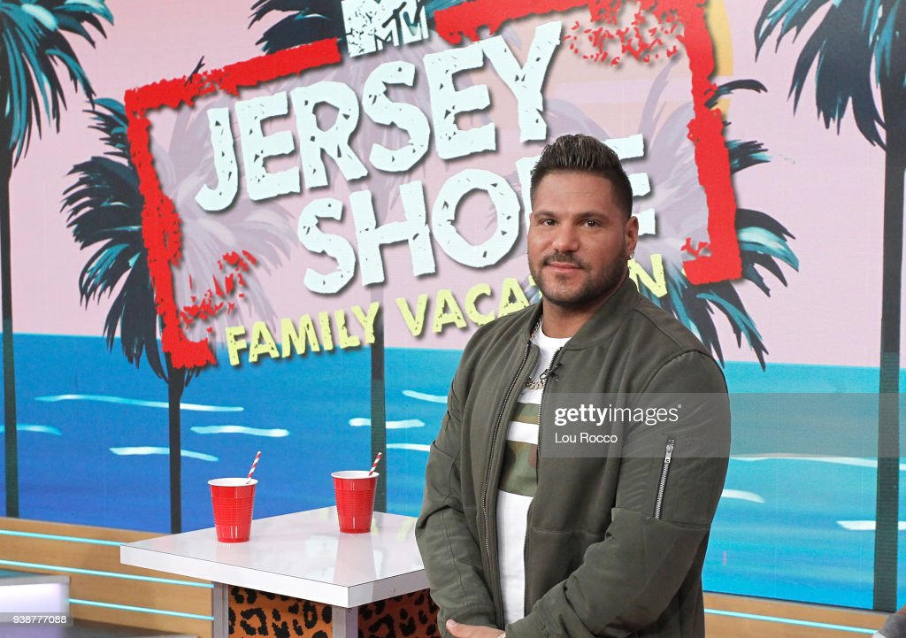 AMERICA - The cast of 'Jersey Shore' are guests on 'Good Morning America,' Tuesday, March 27, 2018, airing on the ABC Television Network. RONNIE