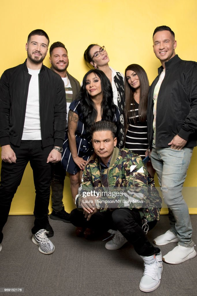 Jersey Shore Family Vacation Cast: The Cast Of Jersey Shore Family Vacation, L-r: Vinny