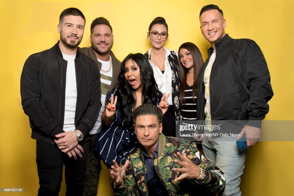 Cast of Jersey Shore, New York Daily News, March 27, 2018