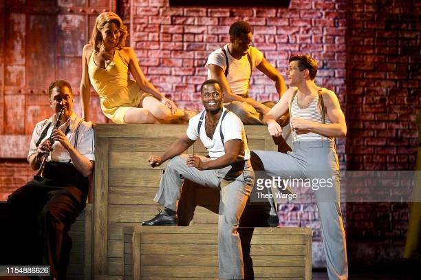The cast of Kiss Me, Kate performs onstage during the 2019 Tony Awards at Radio City Music Hall on June 9, 2019 in New York City.