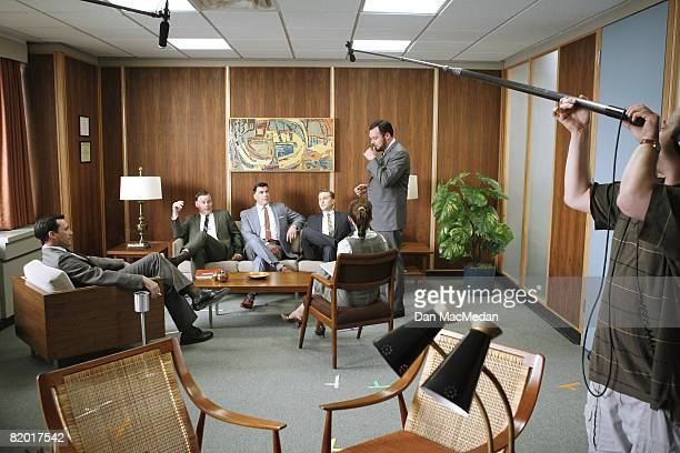 The Cast of Mad Men is photographed for USA Today