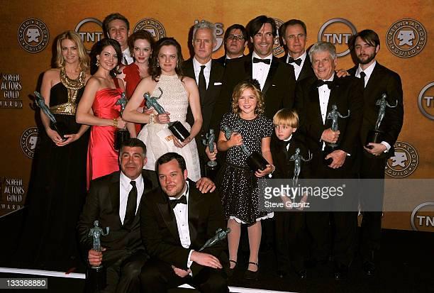 The cast of Mad Men January Jones Alison Brie Aaron Staton Elisabeth Moss John Slattery Mark Moses Rich Sommer Christina Hendricks Jon Hamm Vincent...