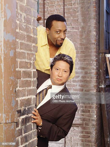 The cast of Martial Law from top to bottom Arsenio Hall and Sammo Hung Image dated August 1 1999
