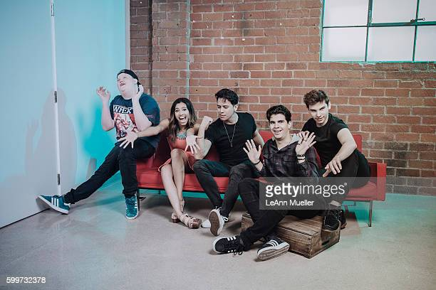 The Cast of Mono Brandon Bowen Kara Royster Eric Ochoa Christian DelGrosso Ty Parker are photographed for The Wrap on June 27 2016 in Los Angeles...