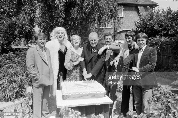 The cast of new Thames TV series 'Fox' filming a birthday scene for father of the family Billy Fox The party will be a major scene in the opening...