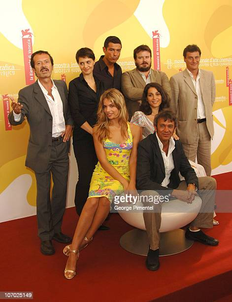 The Cast of 'Non Prendere Impegni Stasera' during The 63rd International Venice Film Festival 'Non Prendere Impegni Stasera' Photocall at Palazzo del...