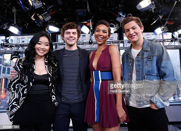AMERICA The cast of of 'XMen Apocalypse' are on 'Good Morning America' 5/24/16 airing on the ABC Television Network LANA