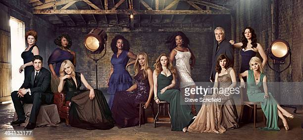 The cast of Orange is the New Black are photographed for Emmy magazine on March 23 2014 in Los Angeles California