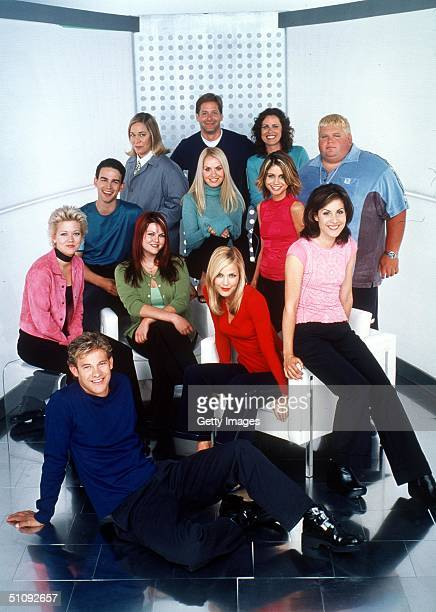 The Cast Of Popular Front Row Bryce Johnson Second Row From LR Tammy Lynn Michaels Sara Rue Leslie Bibb And Carly Pope Third Row From LR Christopher...