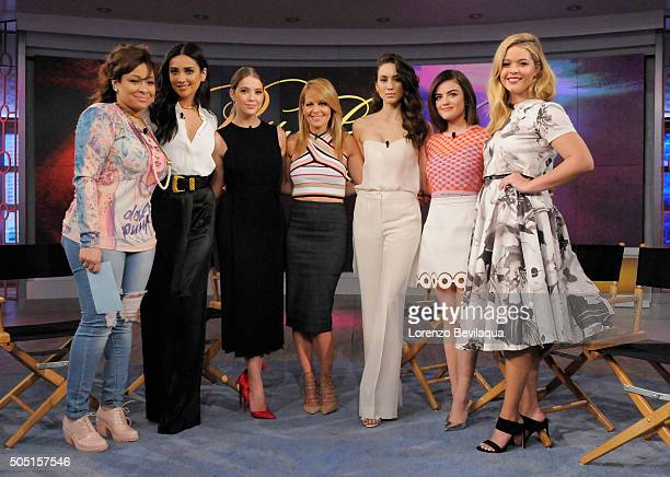 THE VIEW The cast of 'Pretty Little Liars' on Freeform visits 'THE VIEW' 1/12/16 airing on the ABC Television Network PIETERSE