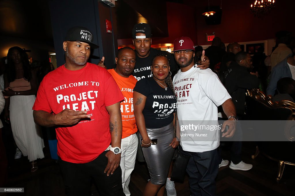 the cast of project heat attends the yg still brazy album