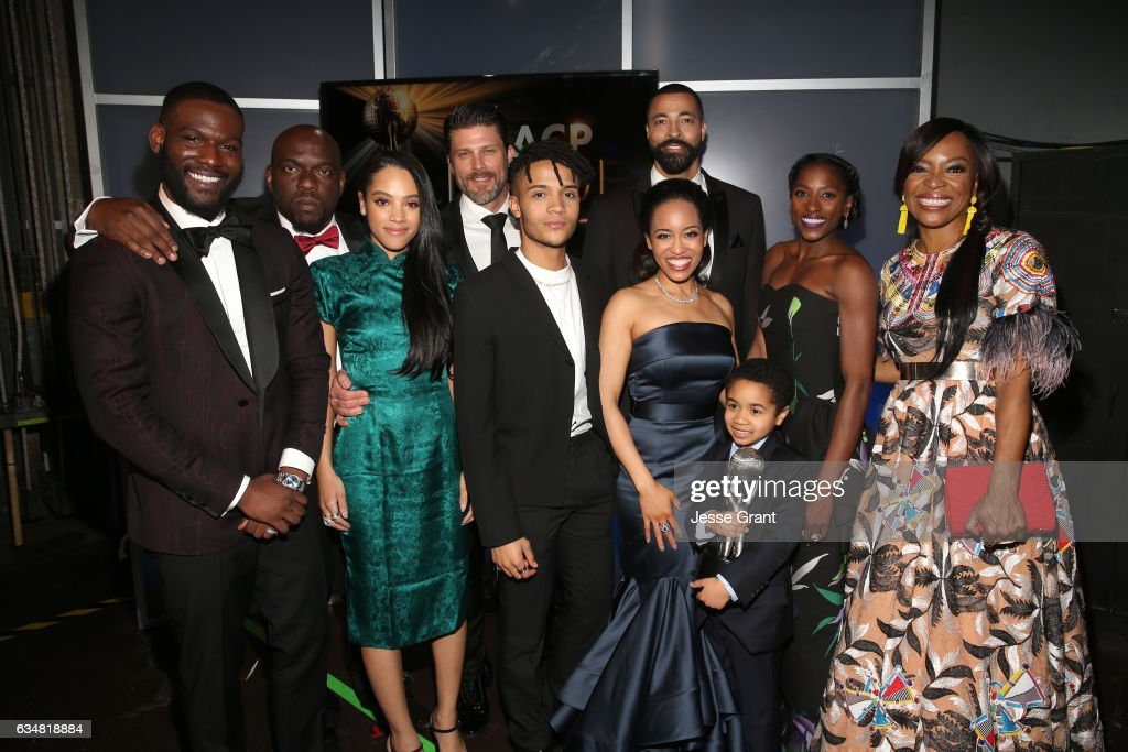 48th NAACP Image Awards -  Backstage and Audience : News Photo