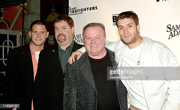 The cast of Rescue Me Steven Pasquale John Scurti Jack McGee and Michael Lombardi