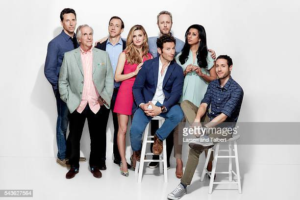The cast of 'Royal Pains' is photographed for Entertainment Weekly Magazine at the ATX Television Fesitval on June 10 2016 in Austin Texas