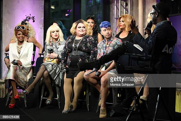 The cast of RuPaul's Drag Race All Stars speak with Bob the Drag Queen at AOL Build Presents The Cast Of RuPaul's Drag Race All Stars at AOL HQ on...