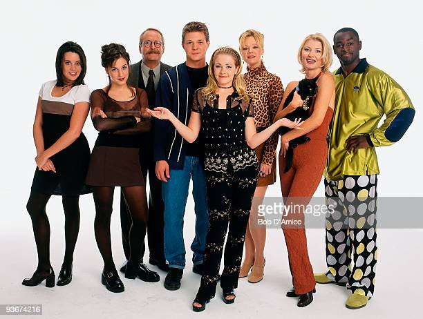 WITCH 'GALLERY' 8/10/97 The Cast of Sabrina The Teenage Witch Jenna Leigh Green Lindsay Sloane Martin Mull Nate Richert Melissa Joan Hart Caroline...